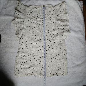 Elle Tops - Elle blouse polka dot